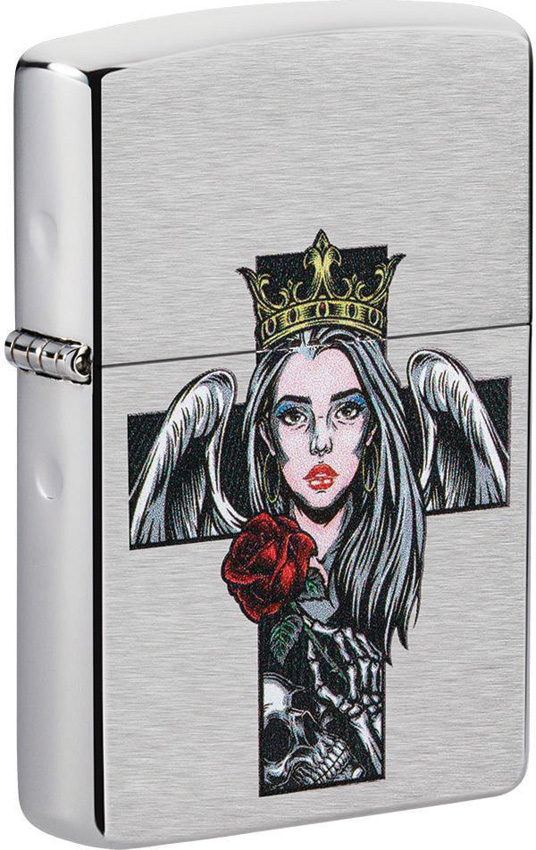 Zippo Cross/Queen/Skull Lighter