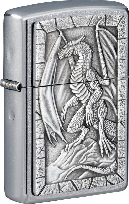 Zippo Dragon 2 Emblem Lighter