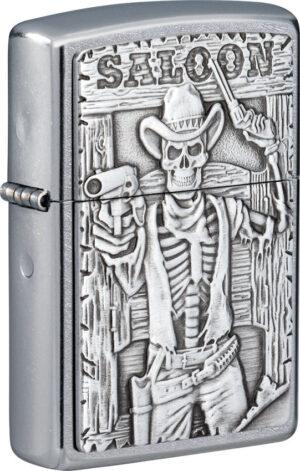 Zippo Saloon Skull Lighter