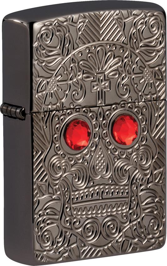 Zippo Crystal Skull Lighter
