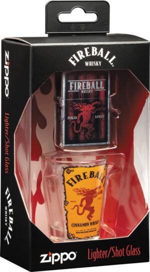 Zippo Fireball Shot Glass Set