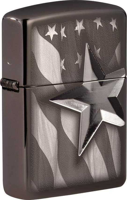 Zippo Retro Star Design Lighter
