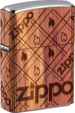 Zippo Woodchuck Lighter Flame