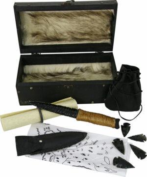 Valyrian Steel Nights Watch Dragonglass Set (5.75″)