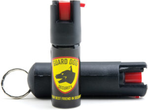 Guard Dog Quick Action Pepper Spray Blk