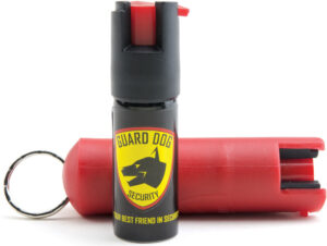 Guard Dog Quick Action Pepper Spray Red