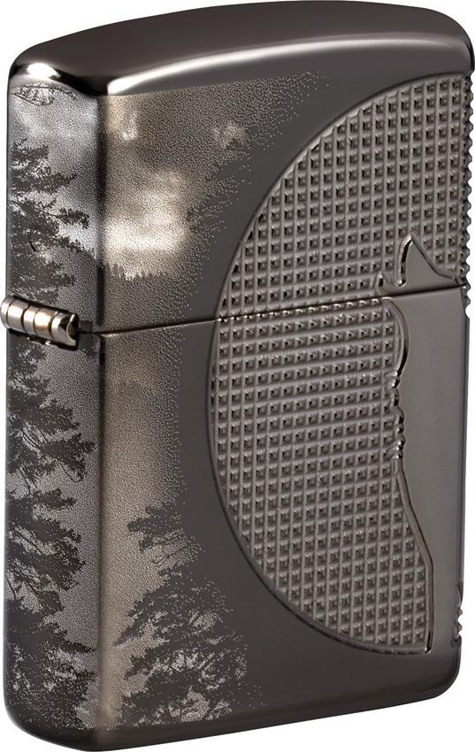 Zippo Wolf Armor Lighter