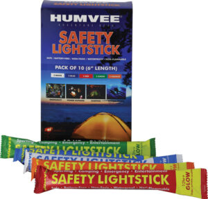 Humvee 6″ Safety Glow Stick 10 Pk