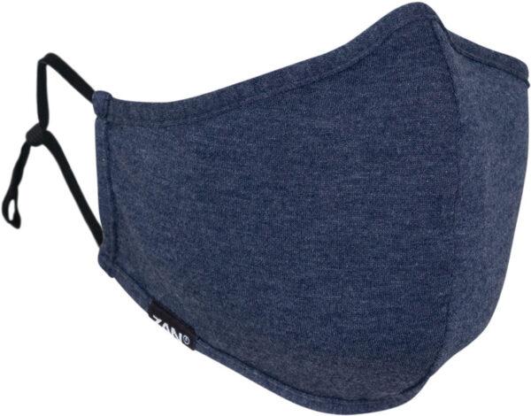 Zan Headgear Adjustable Face Mask Navy