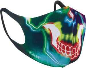 Zan Headgear Face Mask Two Pack Skull