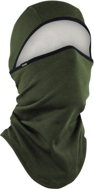 Zan Headgear Convertible Balaclava Green