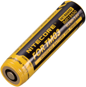 Nitecore IMR18650 Battery for TM03