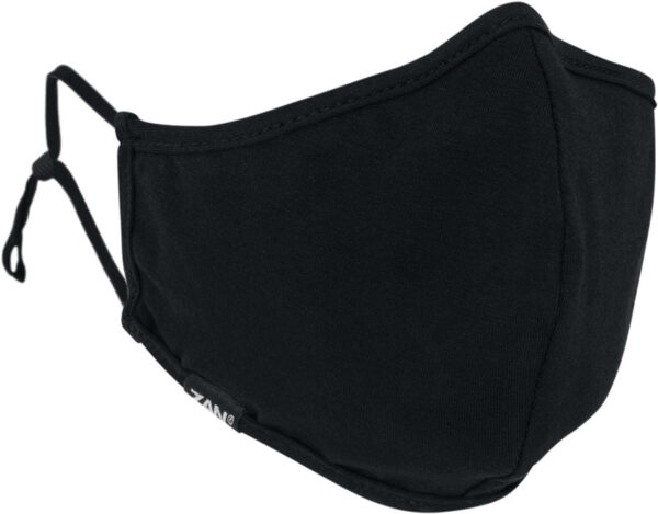 Zan Headgear Adjustable Face Mask Black