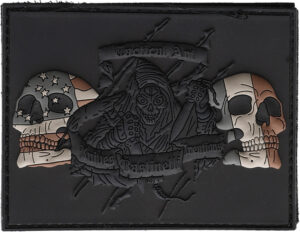 Bastinelli Creations US/French Flag Reaper Patch