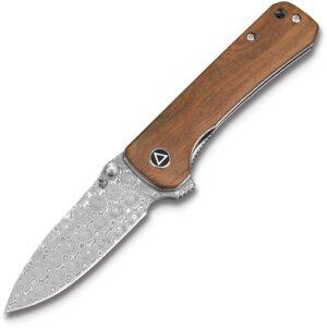 QSP Knife Hawk Linerlock Verawood