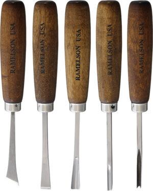 UJ Ramelson Basic Woodcarving Tool Set