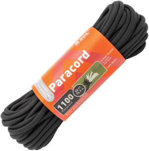 Adventure Medical 1100 Paracord 50ft Black