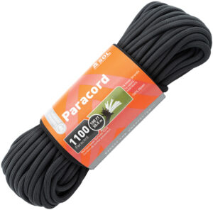 Adventure Medical 1100 Paracord 100ft Black