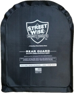 Streetwise Products 8×10 Rear Guard Ballistic Shie