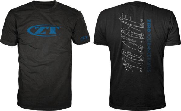 Zero Tolerance Exploded View T-Shirt Sm