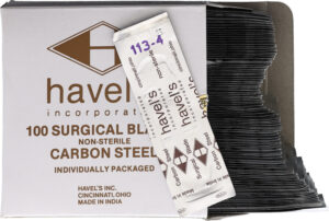 Havels #113 X-Acto Style Blades 100