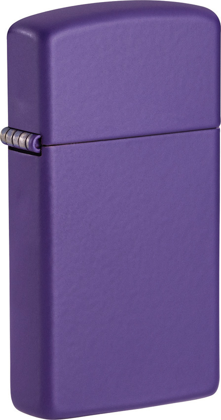 Zippo Slim Purple Matte Lighter