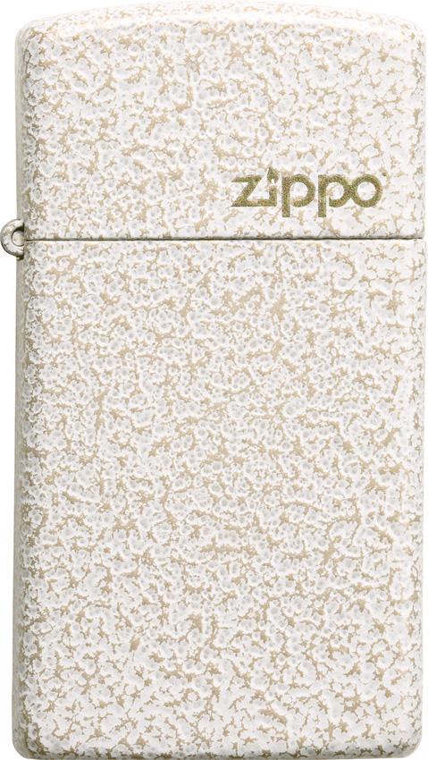 Zippo Slim Mercury Glass Logo