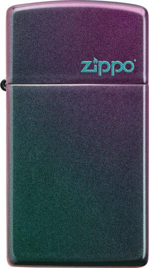 Slim Iridescent Zippo Logo
