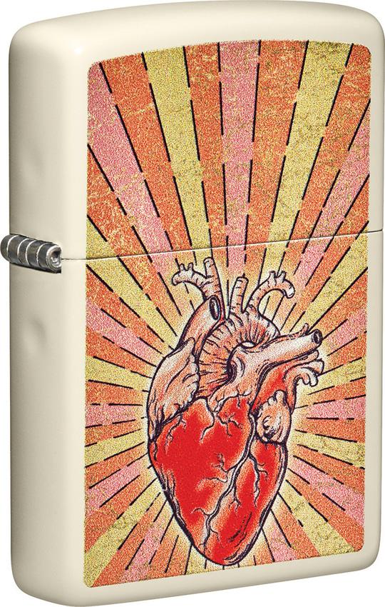 Zippo Heart Design Lighter