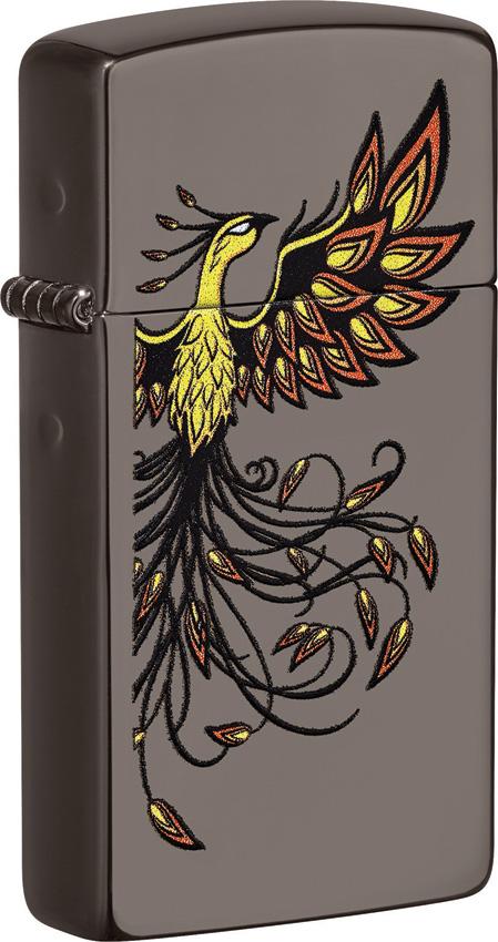 Zippo Slim Phoenix Lighter