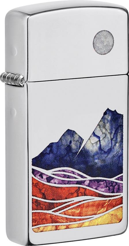 Zippo Slim Landscape Lighter