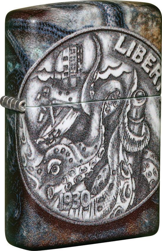 Zippo Pirate Coin Lighter