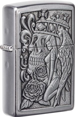 Zippo Skull And Angel Lighter