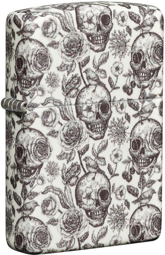 Zippo Skull Design Lighter