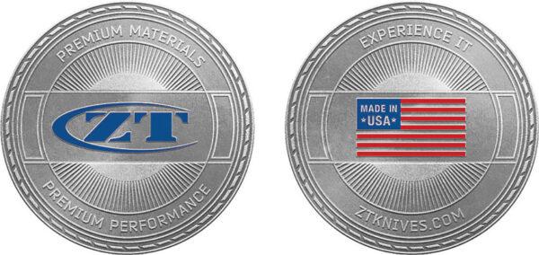 Zero Tolerance Challenge Coin – Experience It